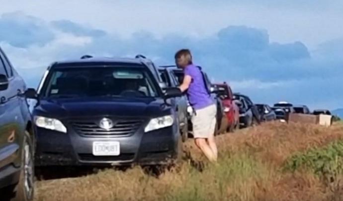 Une centaine d'automobilistes coincés dans la boue à cause de leur GPS