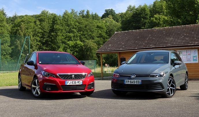 Peugeot 308 et Volkswagen Golf, destins croisés ? - Caradisiac.com