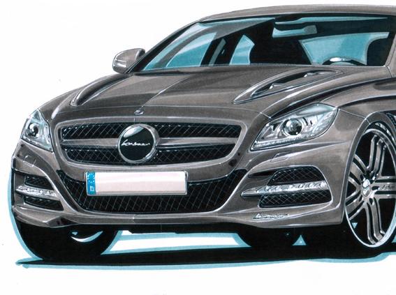 Fuite: Le préparateur Lorinser dévoile la nouvelle Mercedes CLS!
