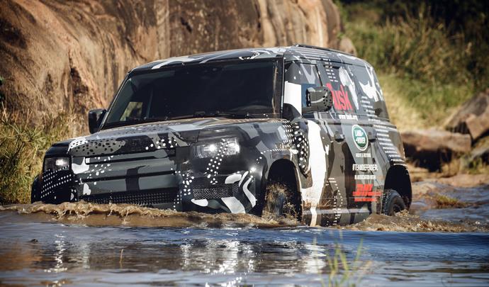 Nouveau Land Rover Defender : les moteurs sont connus