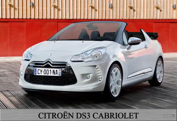 Chez Citroën, la DS3 va bientôt enlever le haut !