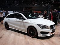 Mercedes CLA Shooting Brake - Vidéo en direct du salon de Genève 2015