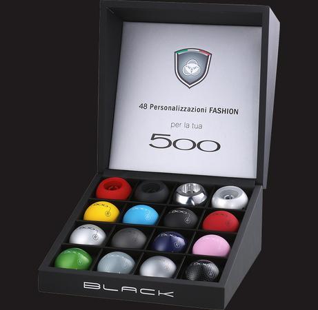 black pour rendre votre fiat 500 vraiment unique. Black Bedroom Furniture Sets. Home Design Ideas