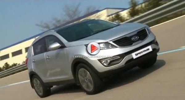 [Vidéo] Le nouveau Kia Sportage partout