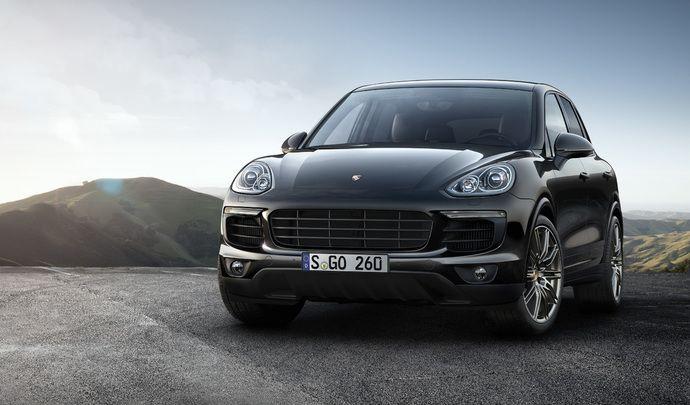 """Porsche : le Cayenne S en version """"Platinum"""""""