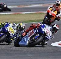 Moto GP - Yamaha: Satisfaction chez Lorenzo