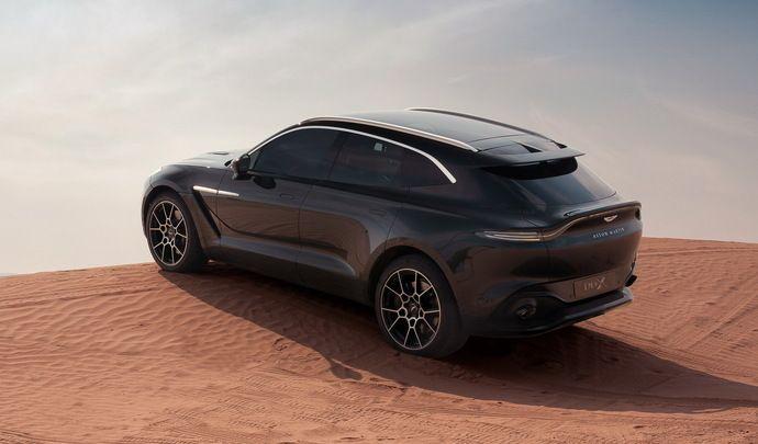Aston Martin DBX : du V12 à venir, mais aussi de l'hybride