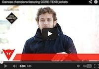 "Dainese: collection Gore-Tex® en vidéo... ""I am a racer… and I wanna be"""