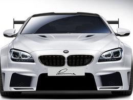 Lumma Design CLR 6 M : une BMW M6 lourdement revue, sauf sous le capot