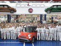 Fiat fête le 500000e 500L produit
