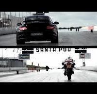 Fun - vidéo: Ducati 1199 Panigale vs Porsche GT2 RS