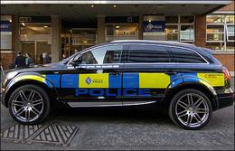 La police de Glasgow roule en Audi Q7 Abt de gangster