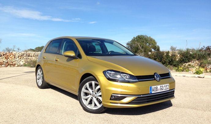 Volkswagen Golf 2017 : les premières images de l'essai en live