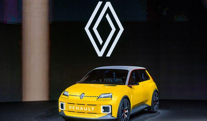 Renault change de logo