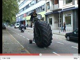 Monsterbike : un vélo qui impose... le respect