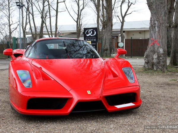 Photos du jour : Ferrari Enzo (Cars & Coffee Paris)