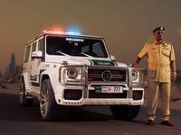 La police de Dubaï roule en Mercedes Classe G Brabus