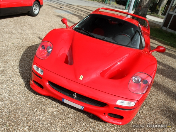 Photos du jour : Ferrari F50 (Cars & Coffee Paris)