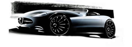 Future Alfa Romeo 4C: Coupé et/ou spider?