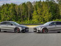Mercedes Classe A et CLA: voici les 45 AMG S avec 421 ch