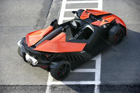 C'est Noël pour KTM : le X-Bow homologué pour la France