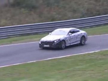 Surprise en vidéo : Mercedes S63 AMG Coupé sur le Nürburgring