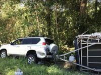 Crash : un conducteur endormi accroche la caravane d'un autre automobiliste