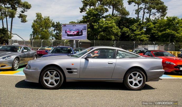 Photos du jour : Aston Martin V8 Coupé (Le Mans Classic)