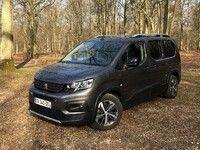 Peugeot Rifter long (2021) : les premières images de l'essai en live