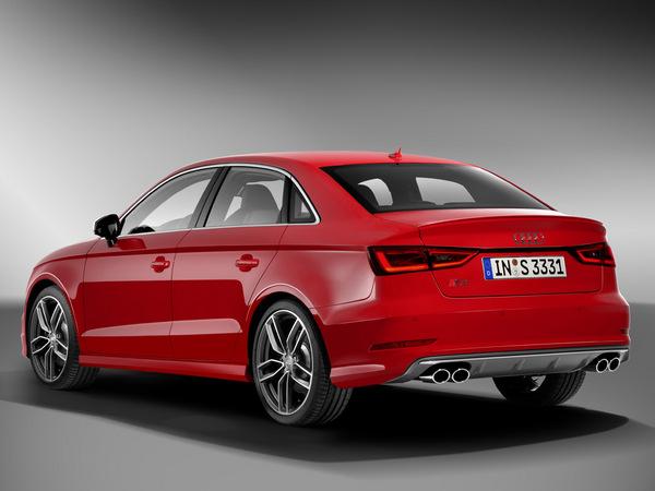 Audi S3 berline : à partir de 47 460 euros
