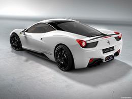 Ferrari 458 Italia par Oakley : blanche, elle aussi