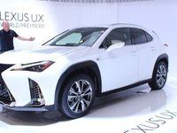 Lexus UX : compact - Vidéo en direct du Salon de Genève 2018