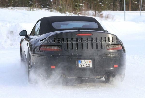 Spyshot : la prochaine Porsche 911 Cabriolet encore dans la neige