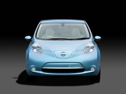 La Nissan Leaf élue voiture de l'année au salon de New York