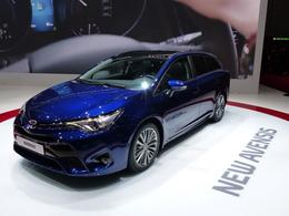 Toyota Avensis : trois et demi  –  En direct du salon de Genève 2015