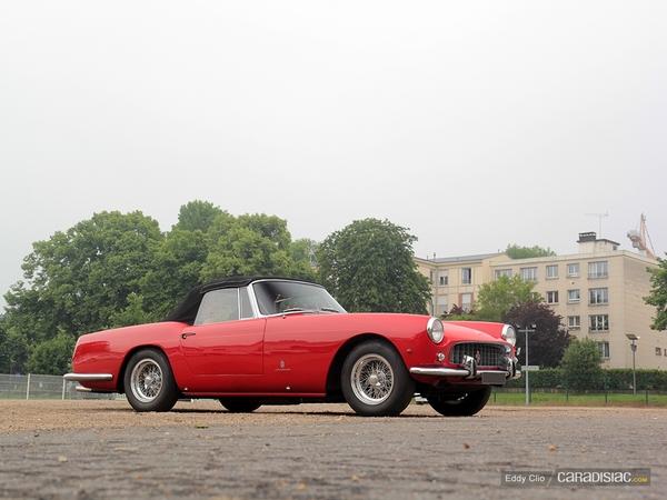 Photos du jour : Ferrari 250 Gt Pininfarina Cabriolet Serie 2 (Cars & Coffee Paris)