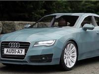 Vidéo : il réalise une Audi A7 entièrement en papier