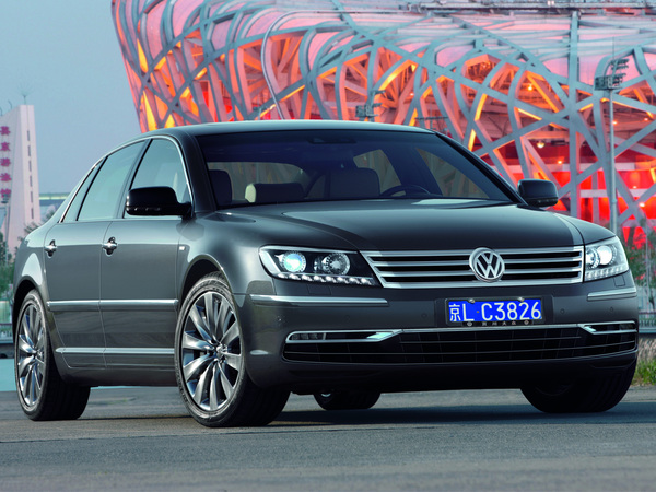 VW Phaeton Phase 3 : plus de photos