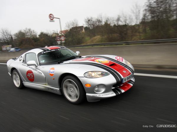 Photos du jour : Dodge Viper GTS (Rallye de Paris)