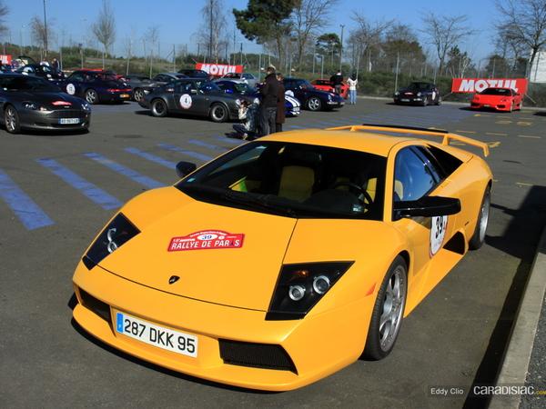 Photos du jour :   Lamborghini Murcielago (Rallye de Paris)