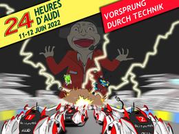 Cara croque l'actu #3: Audi annexe Le Mans.