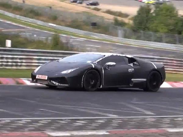 """Surprise en vidéo : la Lamborghini """"Cabrera"""" à l'attaque sur le Ring"""