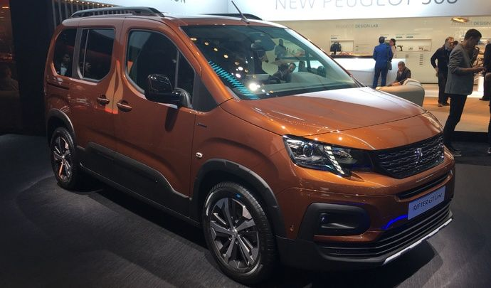 Le Peugeot Rifter : coquet - Vidéo en direct du salon de Genève 2018