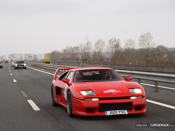 Photos du jour : Venturi 400 Trophy (Rallye de Paris)