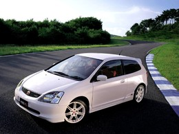 La p'tite sportive du lundi: Honda Civic Type-R EP3.