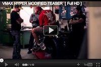 Yamaha: teasing prépa V-max (vidéo)