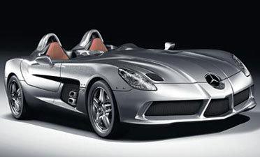 Mercedes McLaren SLR Stirling Moss : la voilà!
