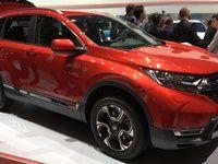 Honda CR-V: hybride et 7 places - Vidéo en direct du Salon de Genève 2018