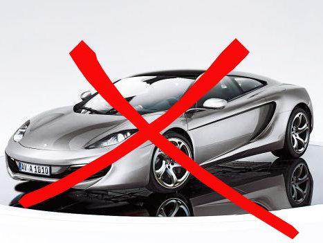 McLaren dément travailler sur une MP4-12 GT 2+2