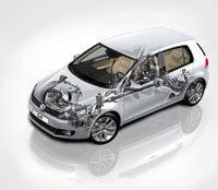 Volkswagen Golf 6 : voici la version 4Motion